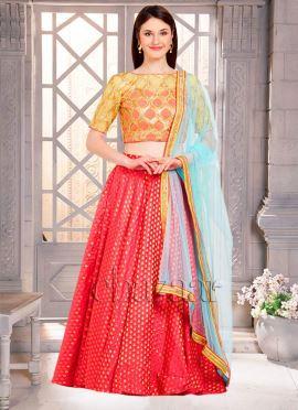 Bollywood Vogue Umbrella Lehenga Set