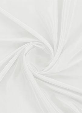 Bright White Santoon Fabric