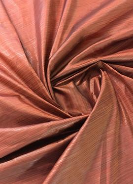 Brown Art Silk Fabric