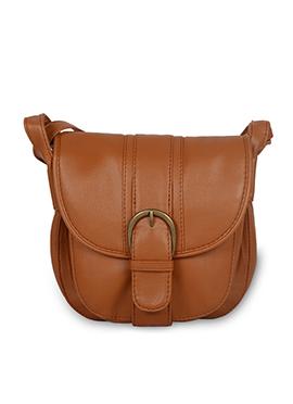Brown Bagsy Malone Sling Bag