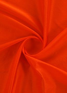 Burnt Orange Dupion Silk Fabric