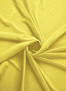 Buttercup Georgette Fabric