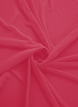 Calypso Coral Georgette Fabric