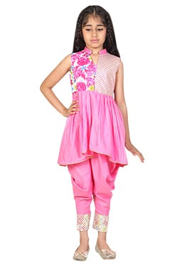 Chiquitita Gota Shirt With Dhoti Set