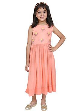 Chiquitita Peach Kids Gown