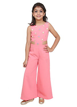 Chiquitita Pink Kids Jumpsuit