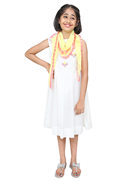Chiquitita White Kids Dress