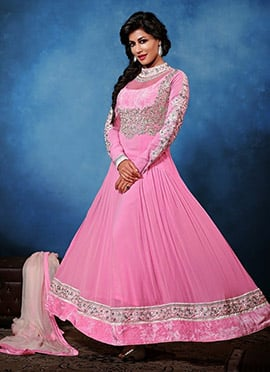 Chitrangada Singh Ankle Length Anarkali Suit