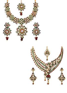 Combo 2 Pieces Necklace Set