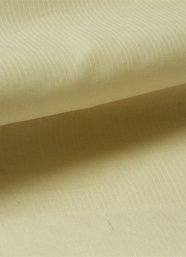 Cream Chanderi Cotton Fabric