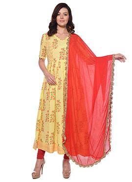 90cf2be8a9 Buy Block Print Salwar Kameez | Designer Block Salwar Kameez Print ...