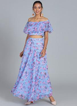 Buy Latest Ethnovogue Indowestern Dresses Online in XL size Cbazaar