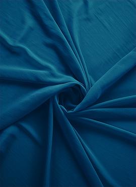 Aqua Blue Georgette Fabric
