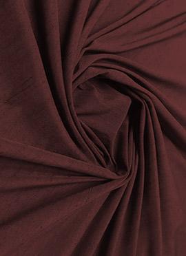 Dark Brown Cotton Fabric