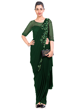 fb4b236a7b Buy Saree Gown Indo Western Dresses | Online Saree Gown Indo Western ...
