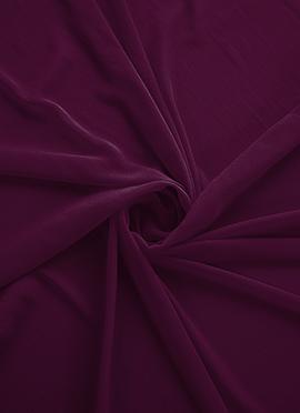 Dark Purple Georgette Fabric