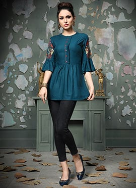 b326d1050c6 Buy Tunic Tops for Women | Latest Tops and Tunics Collection
