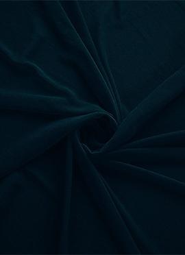 Deep Gibraltar Sea Georgette Fabric