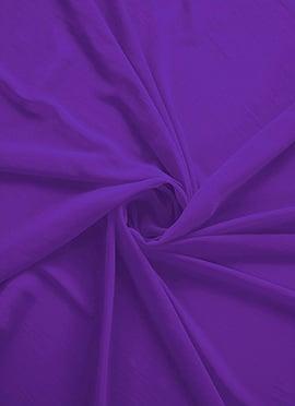 Deep Lavender Georgette Fabric