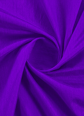 Deep Lavender Raw Silk Fabric