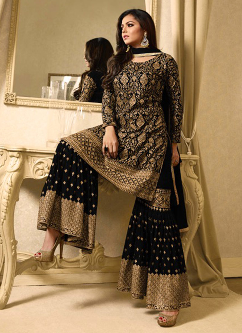 Sharara Suits Online Wiring Diagrams Saw Diagram And Parts List For Craftsman Sawparts Model 11822000 Buy Drashti Dhami Black Embroidered Suit Rh Cbazaar Com Shopping Pakistan