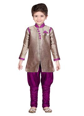 Dual Toned Breeches Style Sherwani
