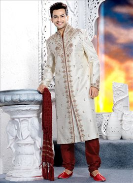 Embroidered Essence Brocade Sherwani