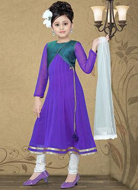 Enticing Ankle Length Teens Anarkali Suit