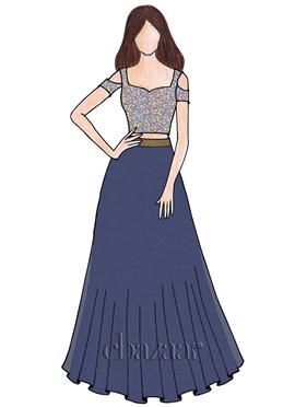 1fd64c0d6f95 Buy Prom Dresses custom stitched from Silk, Crepe ,Chiffon & Brocades