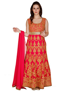 Famous By Payal Kapoor Ankle Length Anarkali Suit