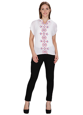 Famous By Payal Kapoor White Top