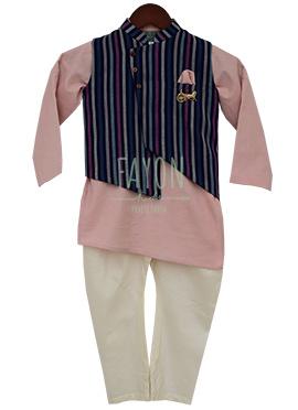 Fayon Multicolor Printed Kids Bandi Set