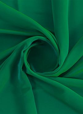 Fern Green Georgette Fabric