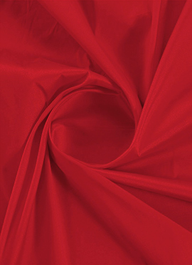 Fiery Red Taffeta Fabric
