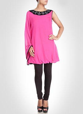 Georgette Pink Tunic