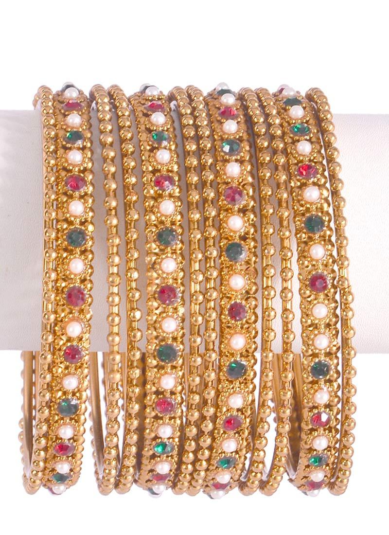 buy gold bangles set stones bangles online shopping hjbbjk2. Black Bedroom Furniture Sets. Home Design Ideas