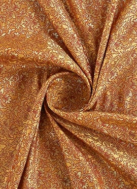 Gold Brocade Fabric