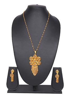 Gold Chain Traditsiya Necklace Set
