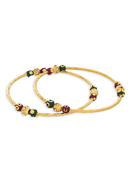 Gold Color Bangles