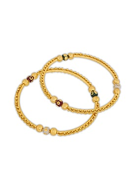 Gold Colored Bangles