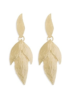 Gold Dangler Earrings