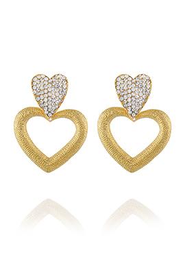 Gold Dangler Earrings