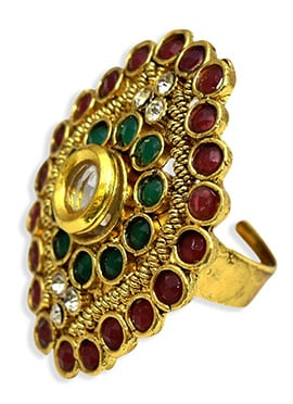 Gold Fancy Motif Ring