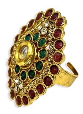 Gold Fancy Motif Ring