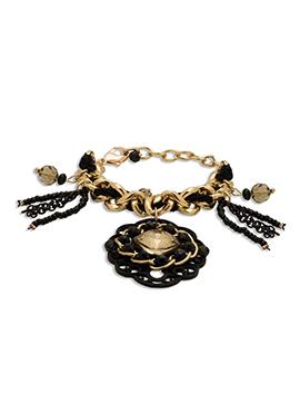 Gold N Black Bracelet