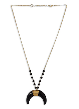 Gold N Black Pendant