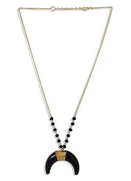 Gold N Black Pendant