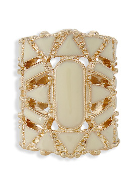 Gold N Cream Color Ring