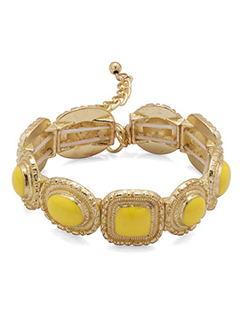 Gold N Yellow Bracelet