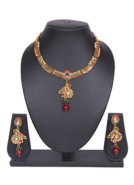 Gold Tradisiya Necklace Set